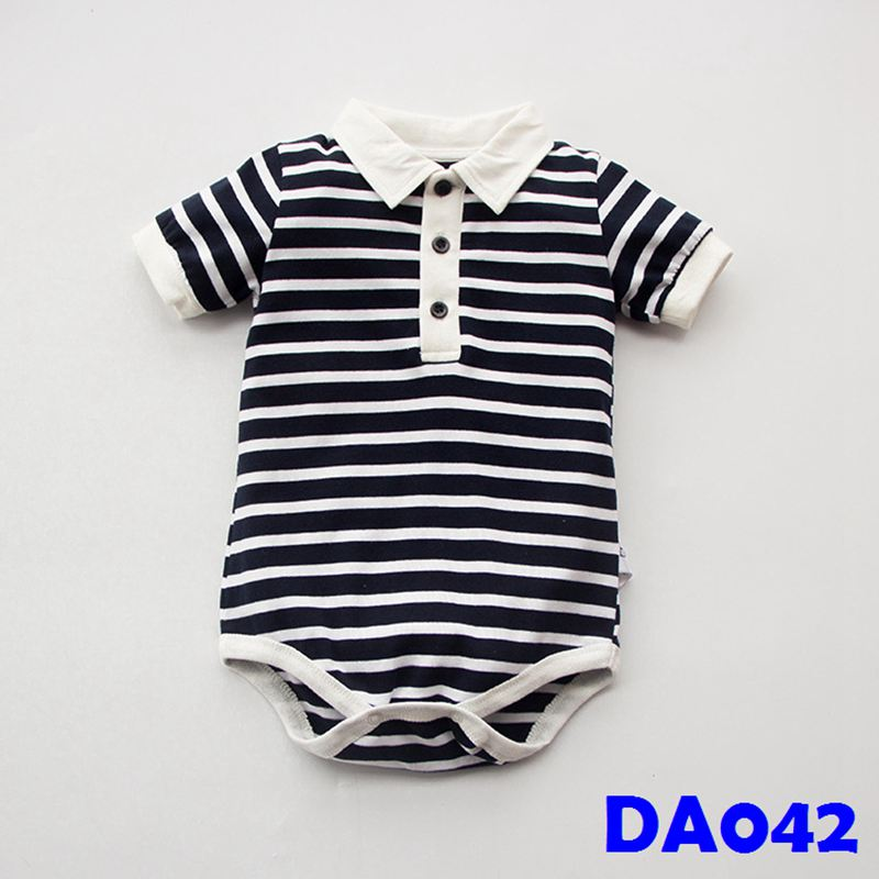 (DA042) Baby Rompers - Stripes
