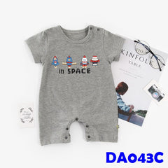 (DA043C) Baby Rompers - In Space
