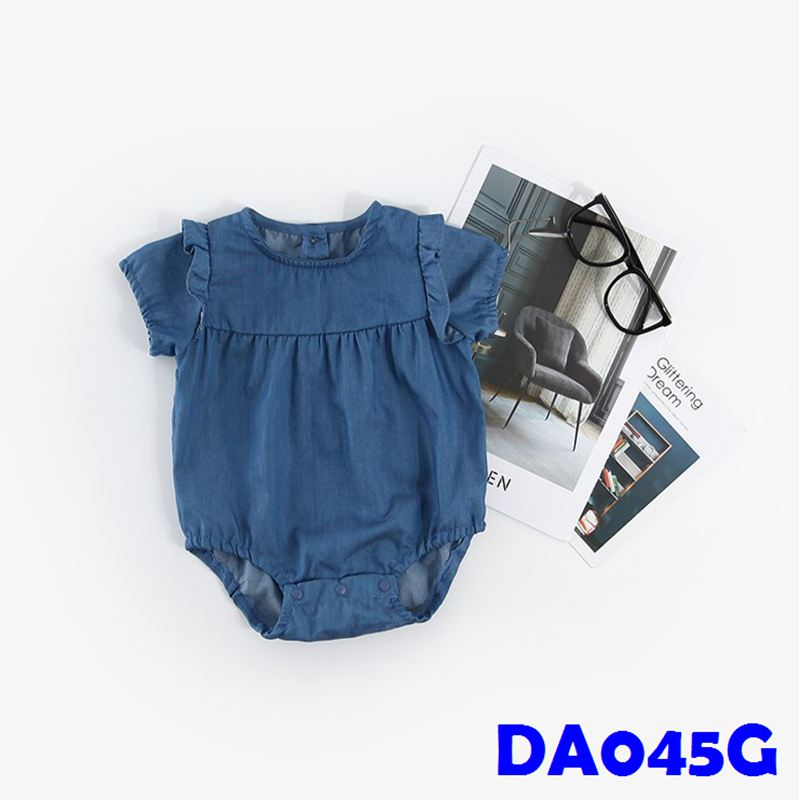 (DA045G) Baby Rompers - Denim (Girl)