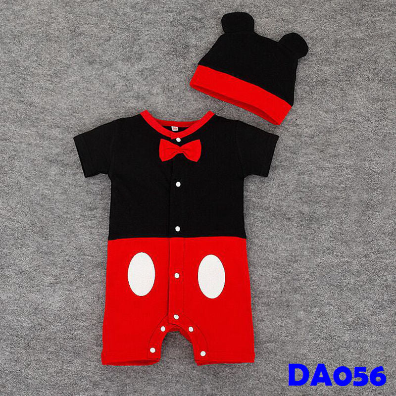 (DA056) Baby Rompers - Mickey With Hat