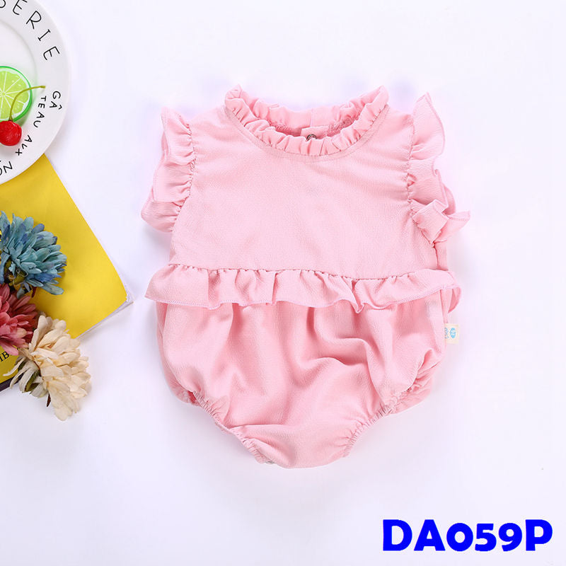 (DA059P) Baby Girl Rompers - Pink
