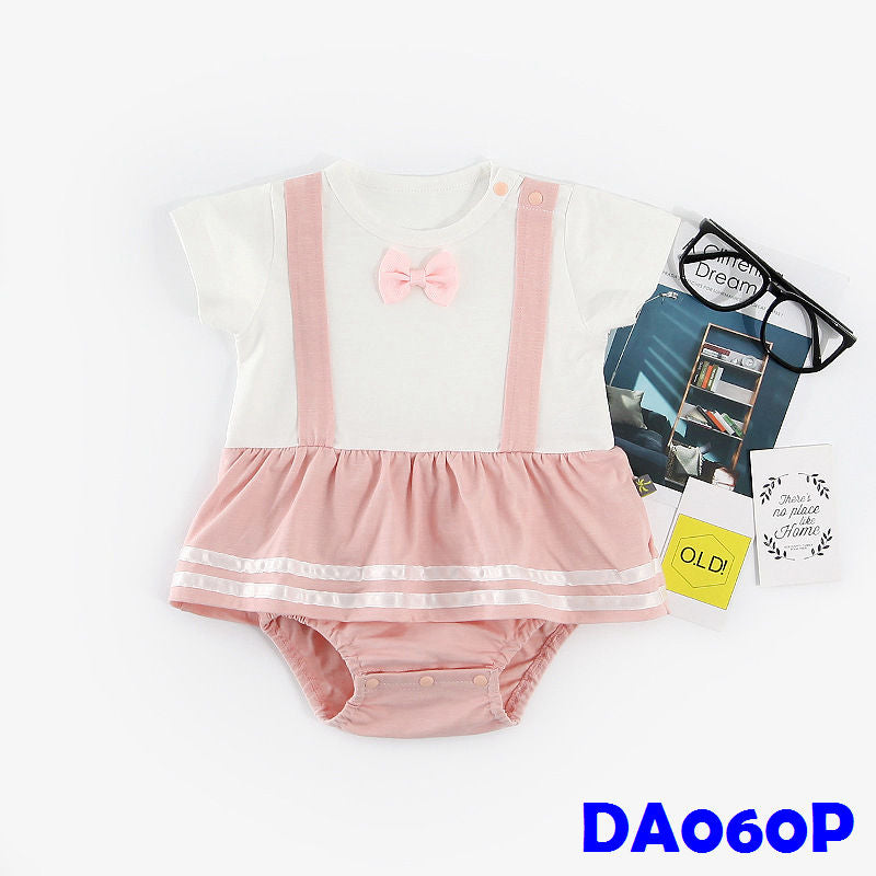 (DA060P) Rompers - Ladies Pink