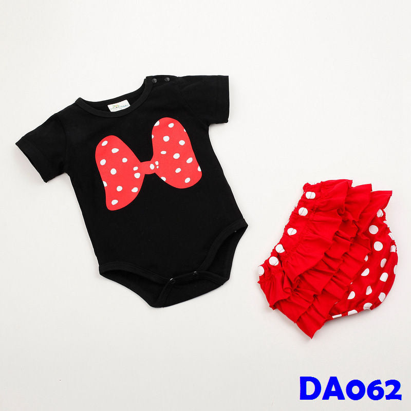(DA062) Baby Rompers - Minnie with Pants