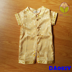 (DA082Y) CNY Romper - Yellow