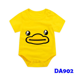 (DA902) Baby Rompers - Yellow Duck