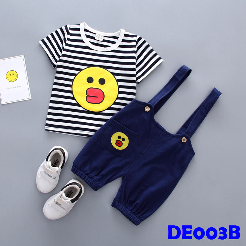(DE003B) Boy Set - Sally (Black)
