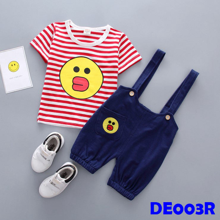 (DE003R) Boy Set - Sally (Red)