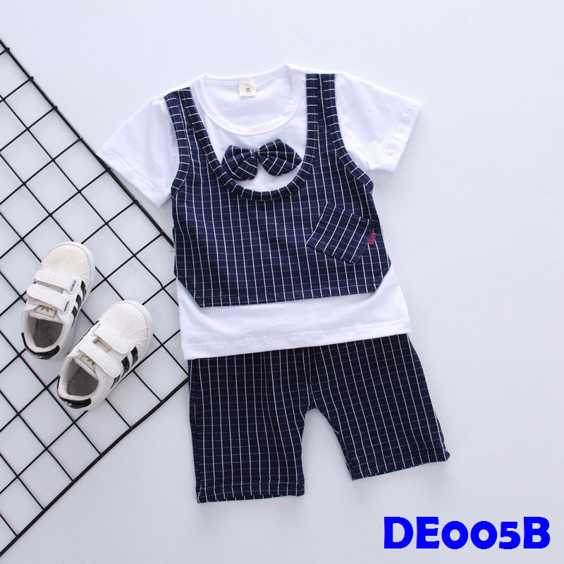 (DE005B) Boy Set - Blue