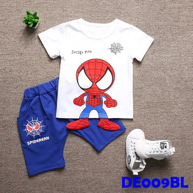 (DE009BL) Set- Spiderman Set Blue