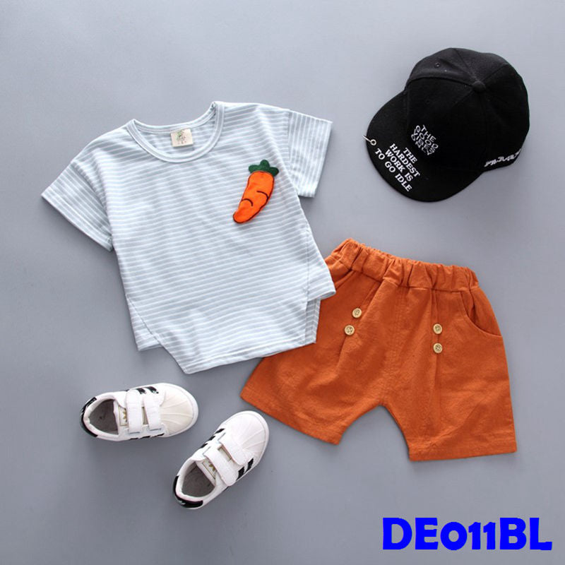 (DE011BL) Set- Carrot Set Blue