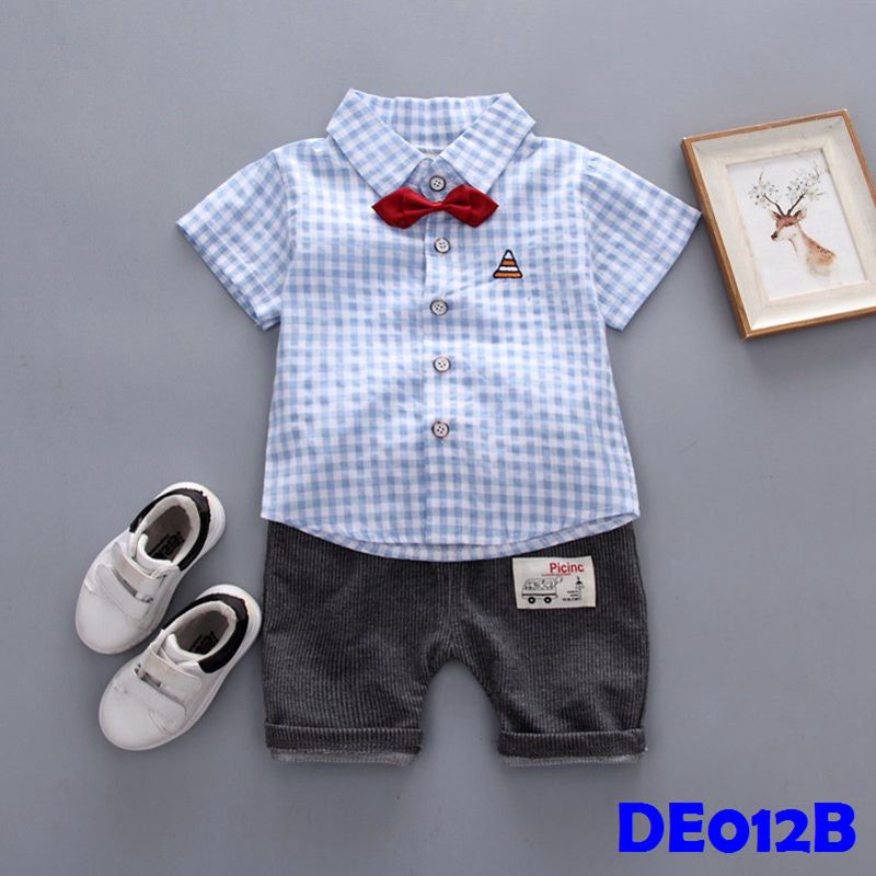 (DE012B) Set- Boy Boxes Set Blue