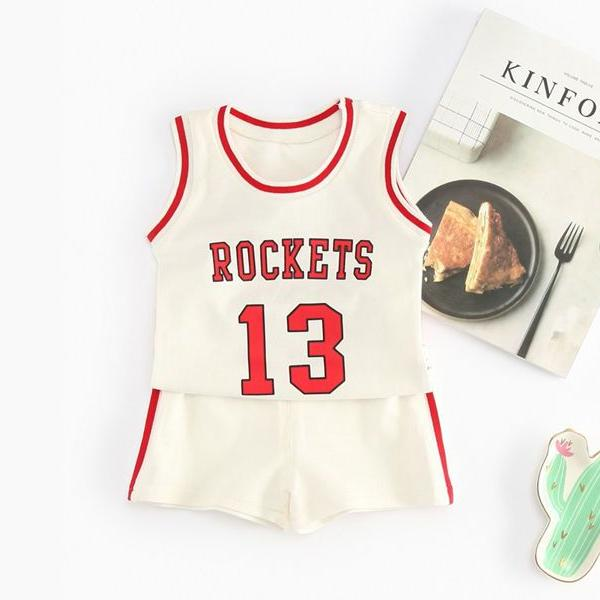 (DE037W) Basketball Set - White