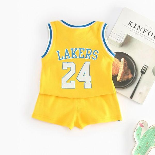 (DE037Y) Basketball Set - Yellow