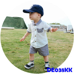 (DE038KK) Boy set - Khaki