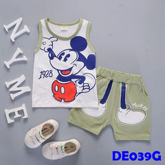 (DE039G) Set - Mickey (Green)