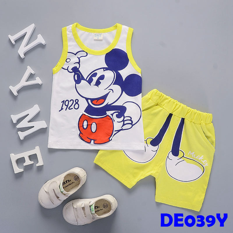(DE039Y) Set - Mickey (Yellow)