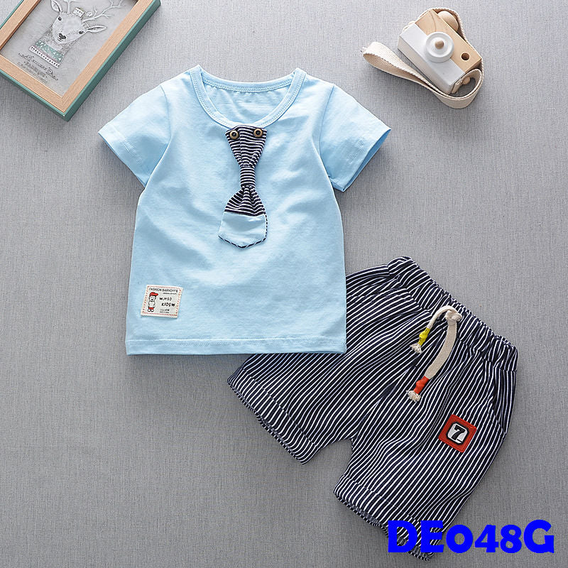 (DE048B) Boy set - Blue