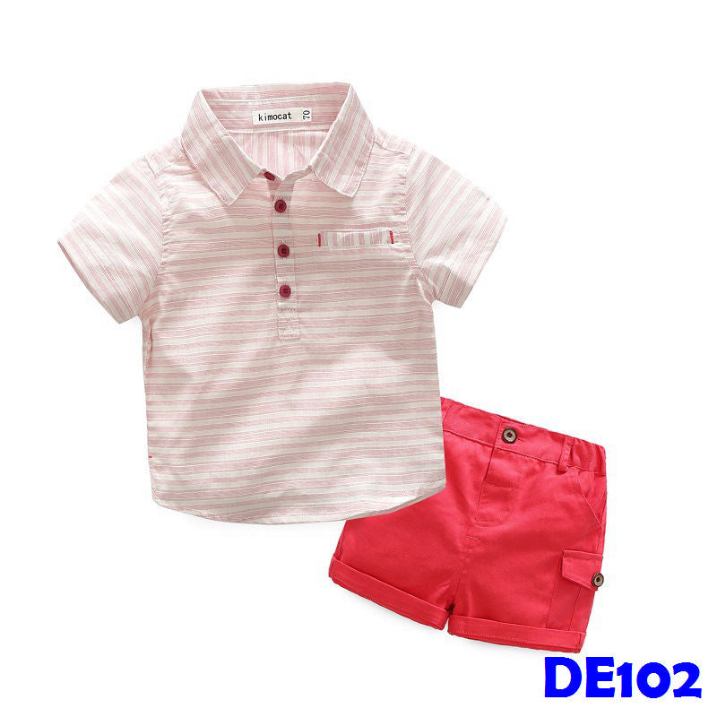 (DE102) Boy clothings - Pink