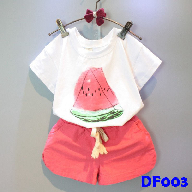 (DF003) Girl Set - Watermelon