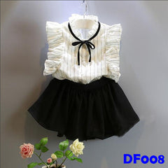 (DF008) Girl Set - White