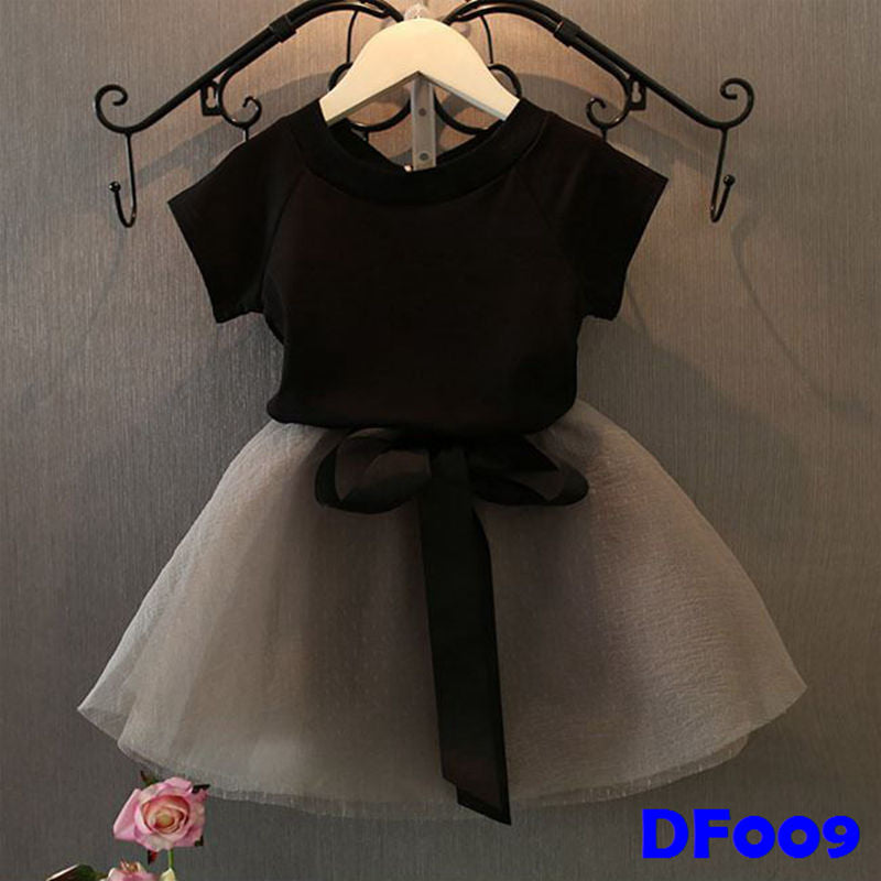 (DF009) Girl Set - Black