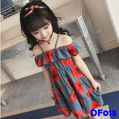 (DF015) Dress - Flower