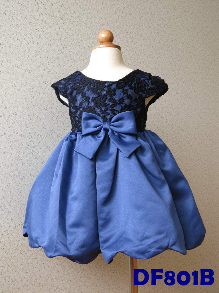 (DF801B) Princess Dress - Blue
