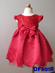 (DF801R) Princess Dress - Red