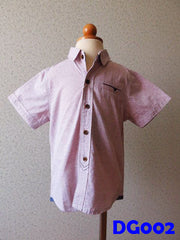 (DG002) Boy Shirt - Light Pink