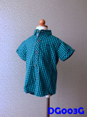 (DG003G) Boy Shirt - Boxed (Green)