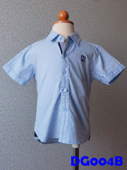 (DG004B) Boy Shirt - Blue