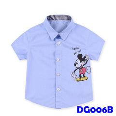 (DG006B) Shirt - Mickey Blue
