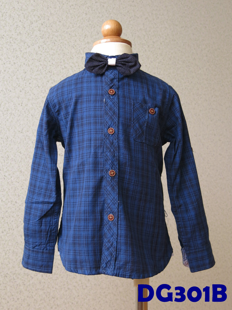 (DG301B) Long Sleeves - Blue