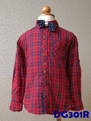 (DG301R) Long Sleeves - Red