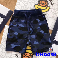 (DH003B) Boy Pants - Camo Print