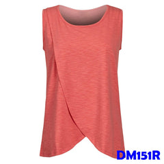 (DM151R) Maternity Nursing Tops - Red
