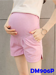 (DM906P) Maternity Pants - Purple