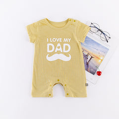 (DA021B) Baby Rompers - I love my dad