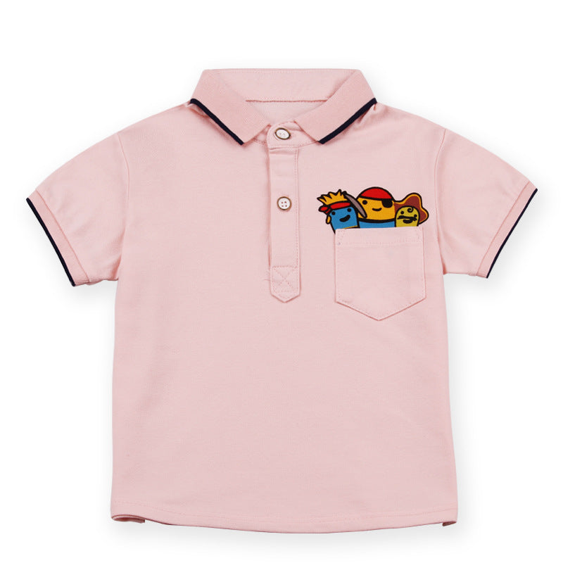 (DG008P) Polo Shirt - Pink