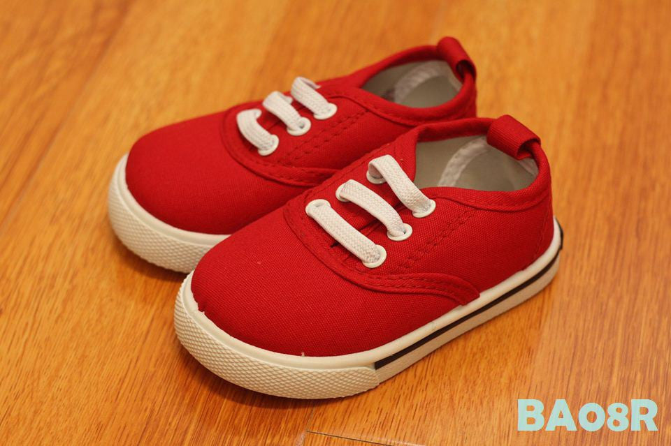 (BA08R) Shoes - Red