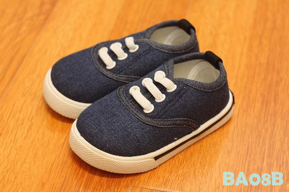 (BA08D) Shoes - Denim