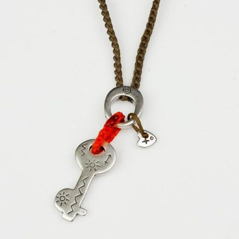 My Babylonia Key to Optimism Necklace