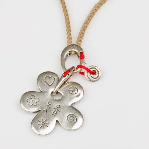 My Babylonia Relationship Flower Necklace
