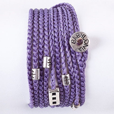 Purple My Babylonia wrap
