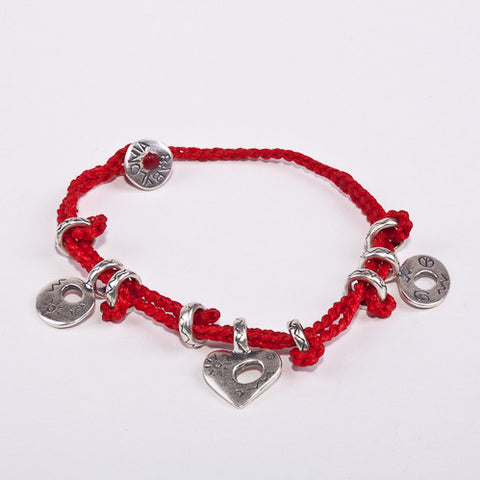 My Babylonia Peace Love and Optimism Bracelet