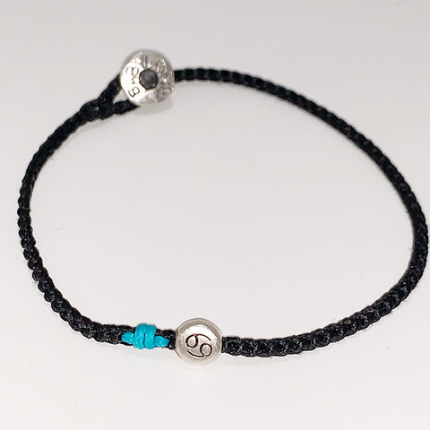 Cancer Horoscope Bracelet