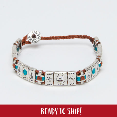 Optimism All Around Bracelet (terra cotta)