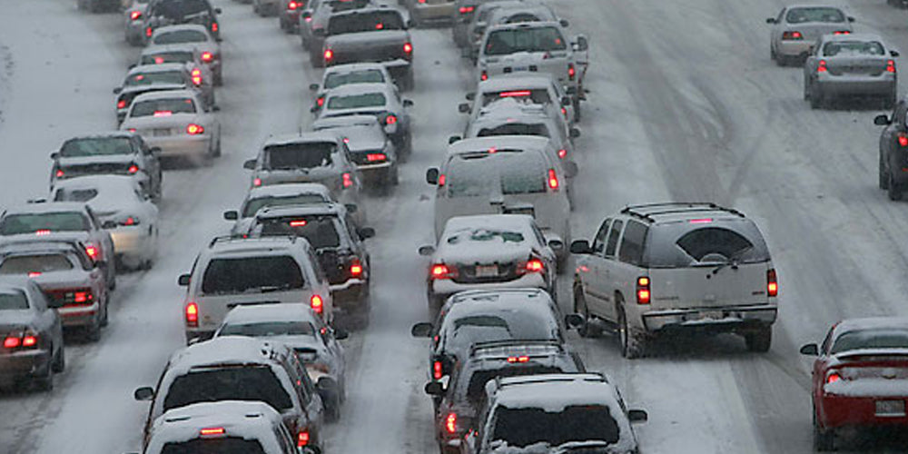 5 Ways to Deal with Winter Traffic