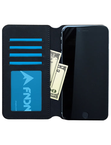 FNDN™ Ultra-thin Luxury Leather iPhone Wallet Case