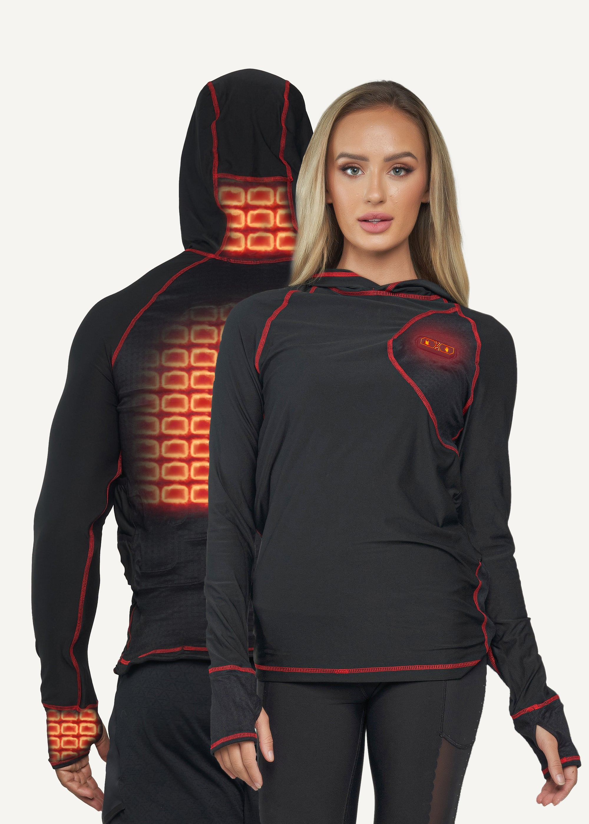 FNDN Heated Skin-Fit Base Layer - Unisex